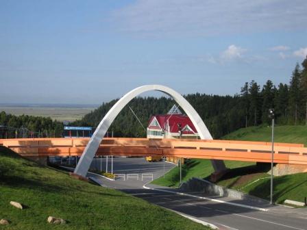 Мост на биатлонном центре