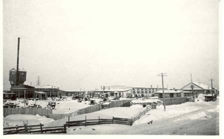 Общий вид Центральных ремонтных мастерских  1956 год