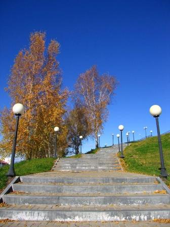 Лестница к храмовой площади