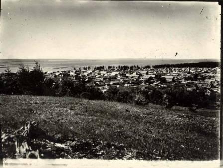 Вид на Ханты-Мансийск  1930 - 1950 года