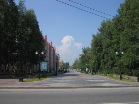 Пешеходная улица Карла Маркса