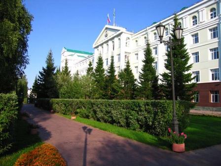 Парк у Дома правительства