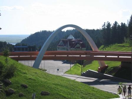 Мост Центра лыжного спорта
