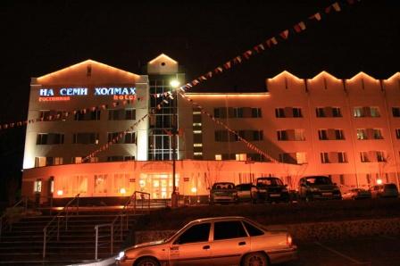 Основное здание гостиницы
