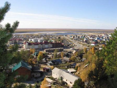 Самарово. Общий план района.