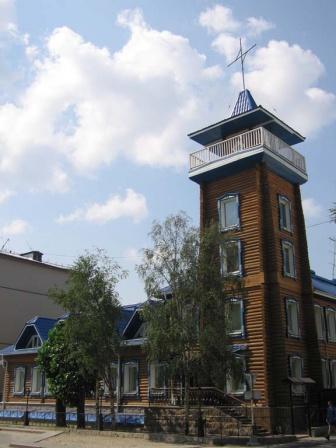 """Исторический памятник """"Пожарная станция"""""""