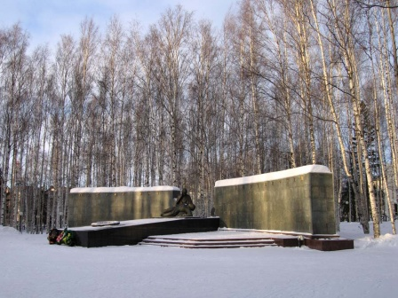 Памятник неизвестным солдатам