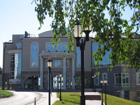Здание окружной библиотеки