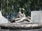 Вечный огонь у памятника Неизвестному солдату